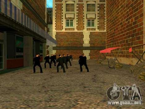 Entrenamiento Vusi para GTA San Andreas tercera pantalla