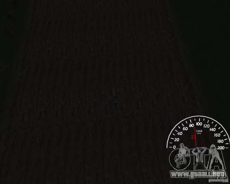 Velocímetro 1.0 para GTA San Andreas tercera pantalla