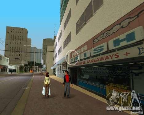 New Downtown: Shops and Buildings para GTA Vice City sucesivamente de pantalla