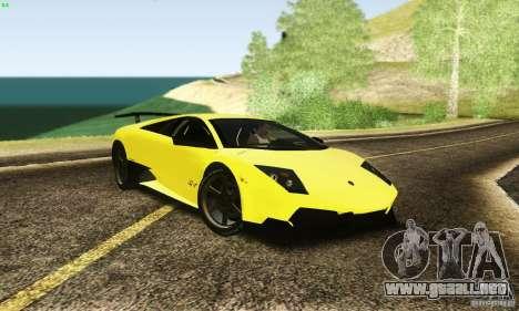Lamborghini Murcielago LP 670-4 SV para GTA San Andreas