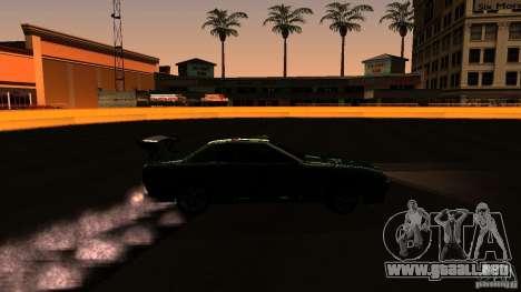 Elegy v0.2 para GTA San Andreas vista hacia atrás