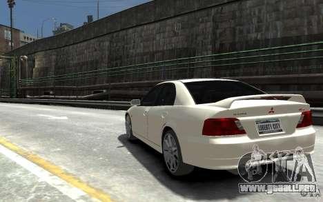 Mitsubishi Galant 8 VR-4 para GTA 4 Vista posterior izquierda