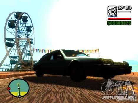 ENBSeries v2 para GTA San Andreas sexta pantalla