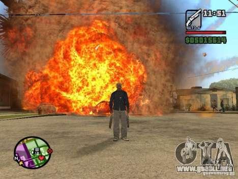 Overdose effects V1.3 para GTA San Andreas séptima pantalla