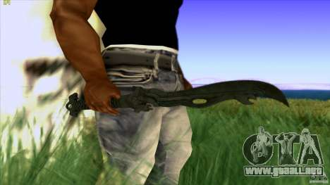 Chinese Knife from Far Cry 3 para GTA San Andreas