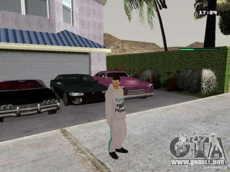 Schmycr para GTA San Andreas tercera pantalla