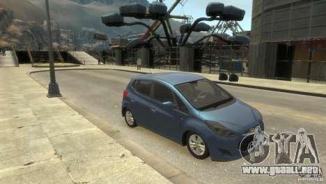 Hyundai IX20 2011 para GTA 4 Vista posterior izquierda