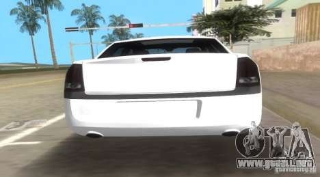 Chrysler 300C SRT V10 TT Black Revel 2011 para GTA Vice City vista lateral izquierdo