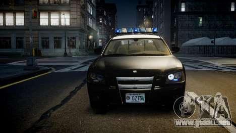 Dodge Charger Florida Highway Patrol [ELS] para GTA 4 vista interior