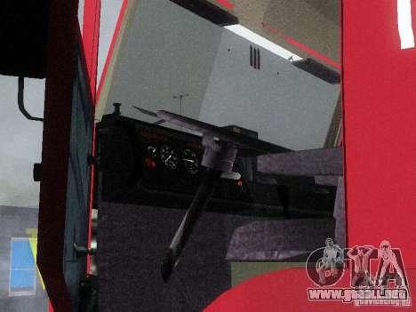 KAMAZ 65117 para vista lateral GTA San Andreas