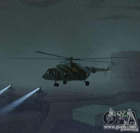Militar MI-17 para GTA San Andreas left