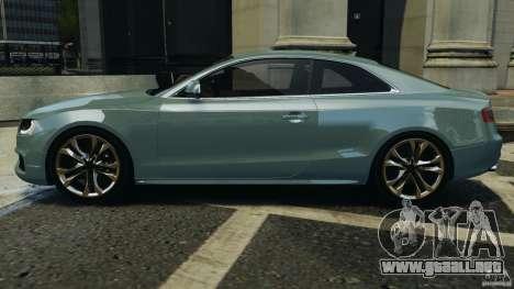 Audi S5 v1.0 para GTA 4 left