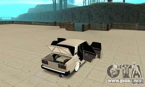 Abrir o cerrar el maletero para GTA San Andreas tercera pantalla