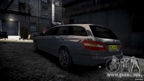 Carro Mercedes E-Class para GTA 4 left