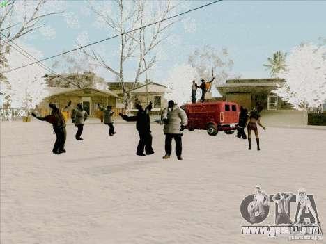 Harlem Shake para GTA San Andreas segunda pantalla