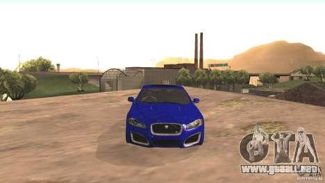 Jaguar XFR 2012 V1.0 para GTA San Andreas left
