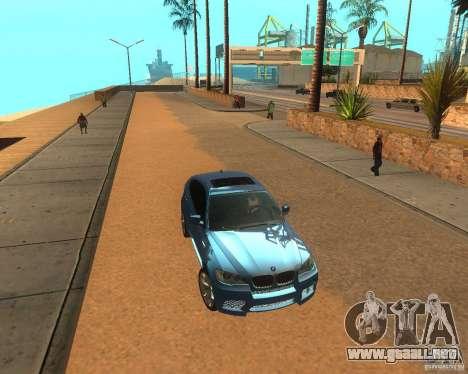 BMW Motorsport X6 M v. 2.0 para GTA San Andreas left