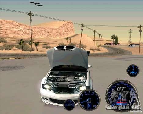 Bmw 330 Tuning para GTA San Andreas vista posterior izquierda