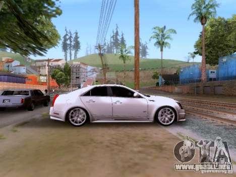 Cadillac CTS-V 2009 para visión interna GTA San Andreas