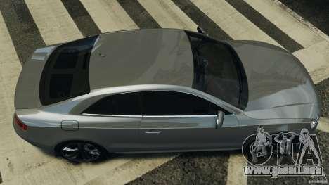 Audi S5 v1.0 para GTA 4 visión correcta