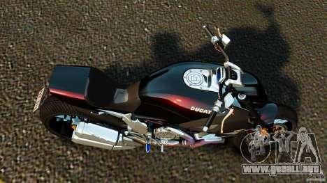Ducati Diavel Carbon 2011 para GTA 4 visión correcta