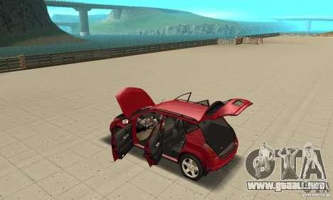 Nissan Murano 2004 para visión interna GTA San Andreas