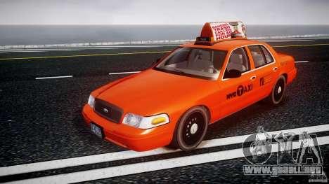 Ford Crown Victoria 2003 v.2 Taxi para GTA 4