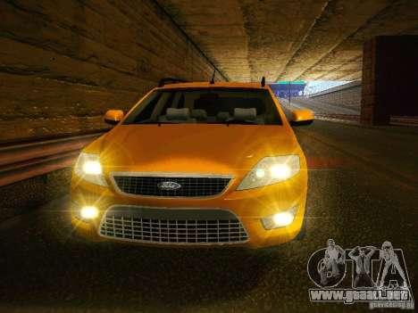 Ford Mondeo Sportbreak para GTA San Andreas vista hacia atrás