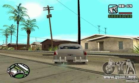 Houstan Wasp (Mafia 2) para GTA San Andreas vista posterior izquierda