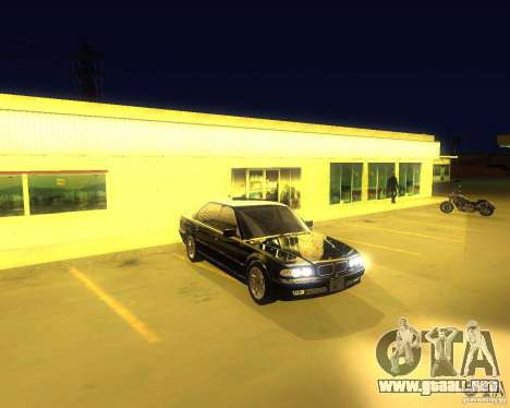 BMW 750i e38 2001 M-Packet para GTA San Andreas