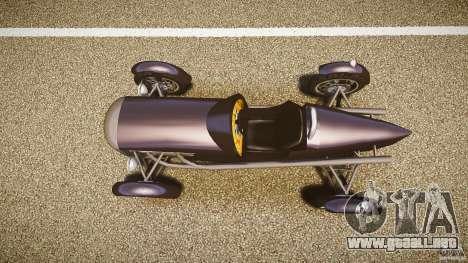 Vintage race car para GTA 4 visión correcta
