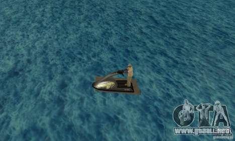 Moto de agua para GTA San Andreas left