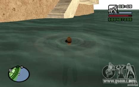 Flujo y reflujo para GTA San Andreas sucesivamente de pantalla