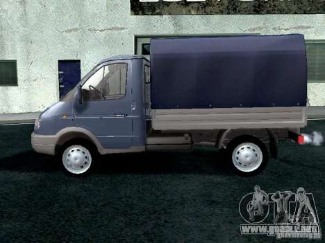 A bordo del GAS Sable 2310 para GTA San Andreas left