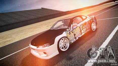 Nissan Silvia S15 Drift v1.1 para GTA 4