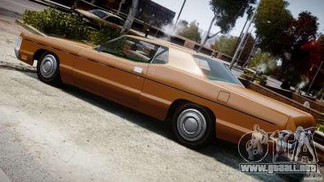 Mercury Monterey 2DR 1972 para GTA 4 interior