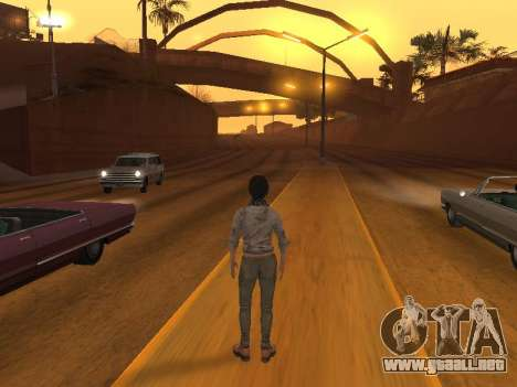 FaryCry 3 Liza Snow para GTA San Andreas sucesivamente de pantalla