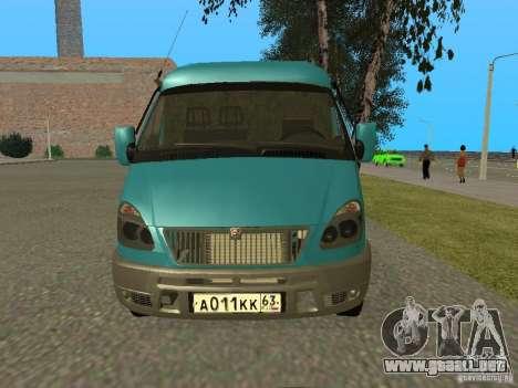 2705 Gacela para GTA San Andreas left