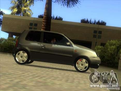 Volkswagen Lupo para vista lateral GTA San Andreas