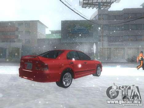 Mitsubishi Galant VR6 para la visión correcta GTA San Andreas