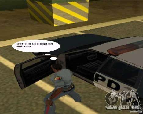 Ver TV para GTA San Andreas sucesivamente de pantalla