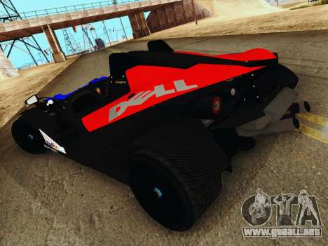 KTM X-Bow 2013 para GTA San Andreas left