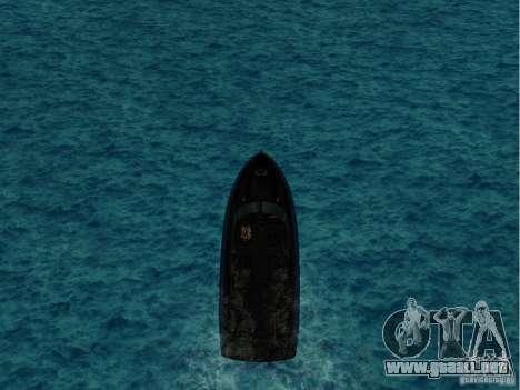 Squalo de Grand Theft Auto IV para GTA San Andreas left