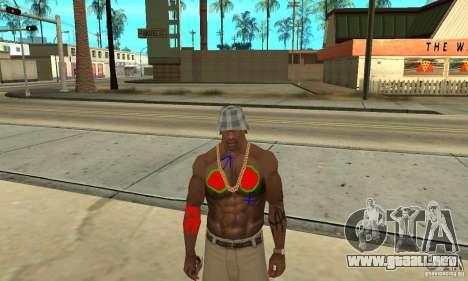 Tatuaje Cool en CJ-que en el cuerpo para GTA San Andreas