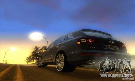 ENB Graphics by KINOman para GTA San Andreas sucesivamente de pantalla