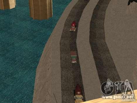 Nuevas texturas para presas para GTA San Andreas segunda pantalla