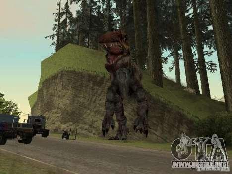Dinosaurs Attack mod para GTA San Andreas séptima pantalla