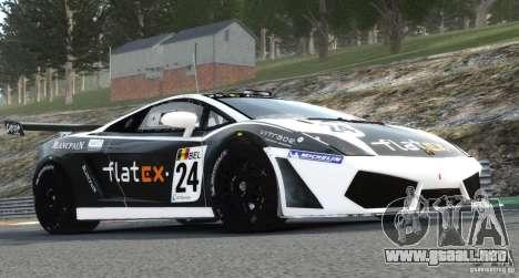 Lamborghini Gallardo LP560-4 GT3 2010 para GTA 4