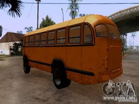 LIAZ 158 para GTA San Andreas vista posterior izquierda