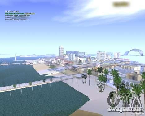 Anti choque para GTA SA: MP [v2.0] para GTA San Andreas segunda pantalla